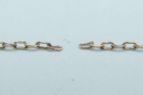 K10ピンクゴールド・ネックレス 修理