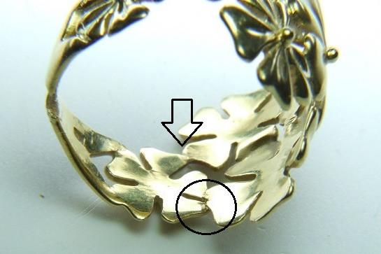 指輪 修理