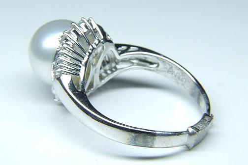 南洋真珠のリング サイズ直し