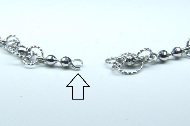 プラチナ・ネックレスの修理