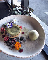 ✨ Matcha lava tart is available again to