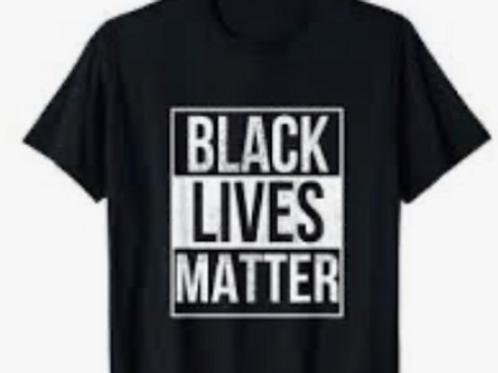 BLM Black Shirts (Adult & Kid)