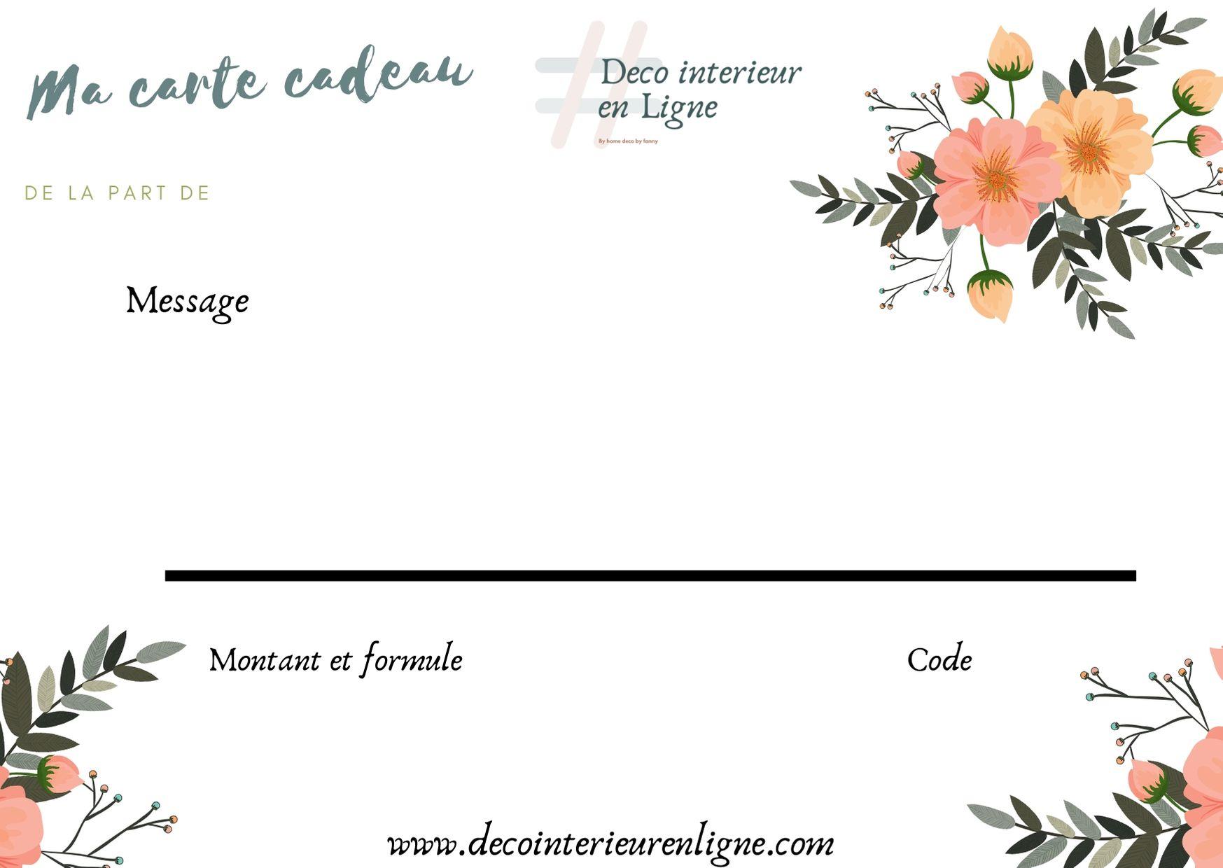 Vert Floral RSVP Carte