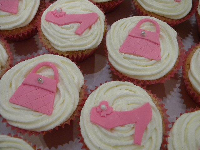 Handbags and Heels Cupcakes