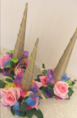 Hand Made Unicorn Wigwam Toppers