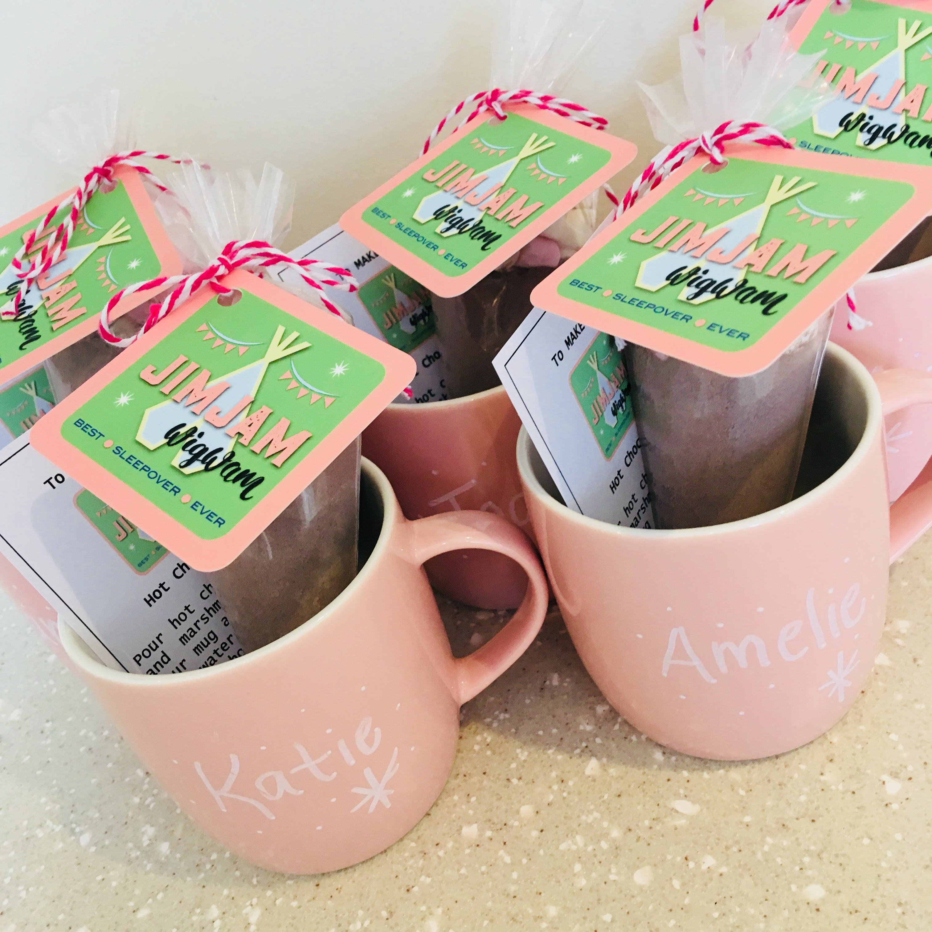 Home Made Hot Chocolate Kits