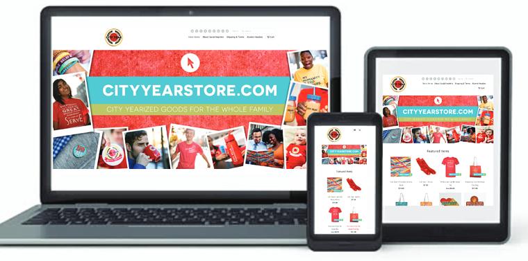 City Year Web Store