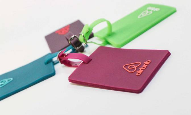Airbnb Luggage Tags