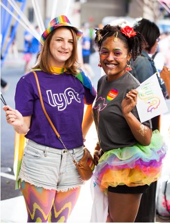 Lyft Pride Celebration