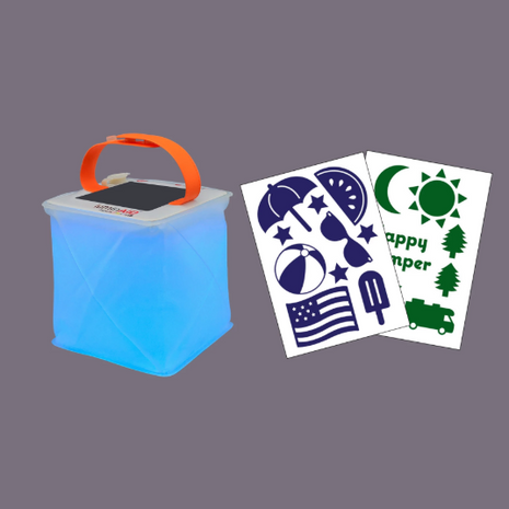 Luminaid Summer Sticker Package