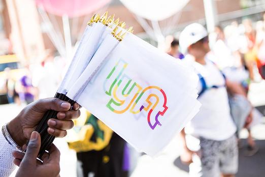 Lyft Pride Flags