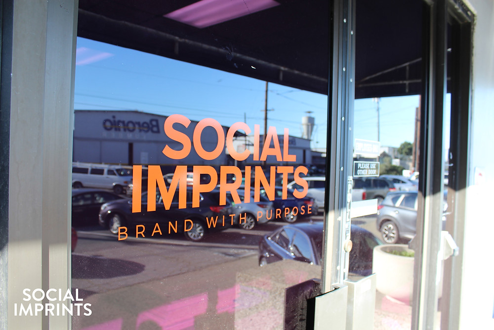 Social Imprints New Decals on Doors