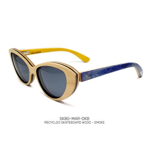 Recycled Skateboard Sunglasses Mariana