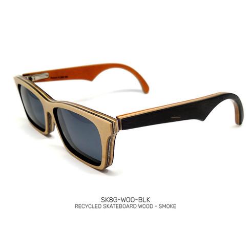 Recycled Skateboard Sunglasses Woodrow