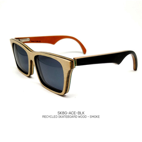 Recycled Skateboard Sunglasses Acer