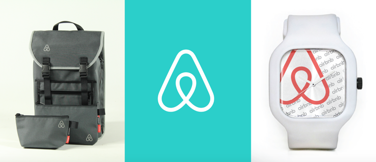Airbnb Backpack and Watch