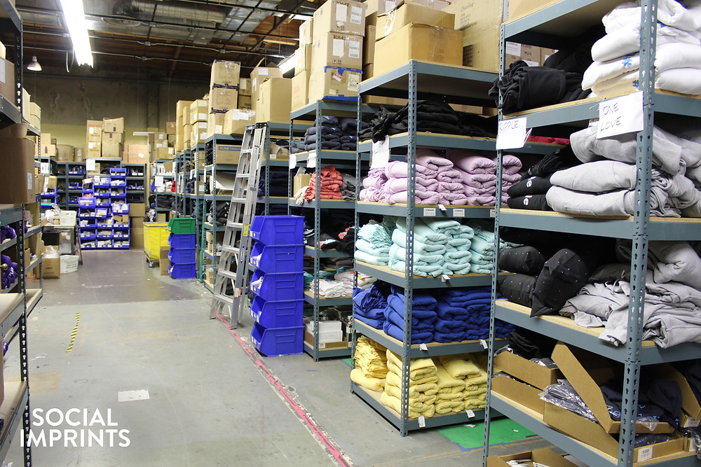 Social Imprints New Fulfillment Center