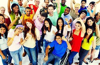 Diversity People Crowd Friends Communica