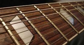 kitarski vrat, ubiralka, fretboard