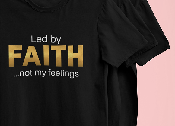 Led by Faith Tee