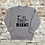 Thumbnail: Faith is RISK - sweatshirt