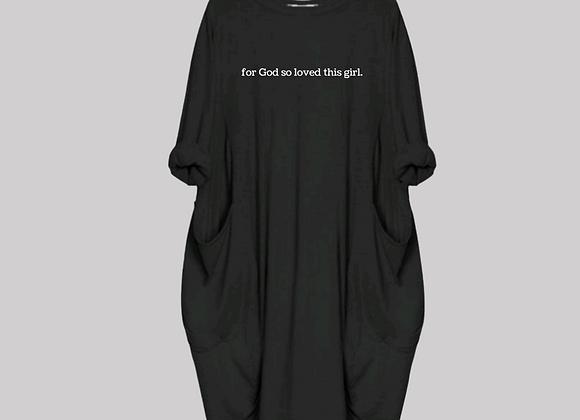 So Loved Shirt Dress