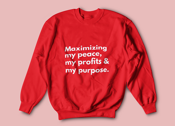 Peace, Profits, and Purpose - Red