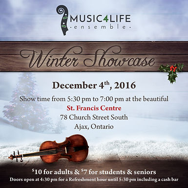 Join us for our Winter Showcase