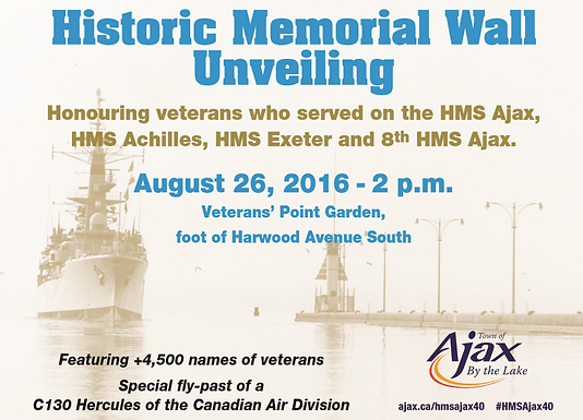 August 26th Memorial Wall Unveiling