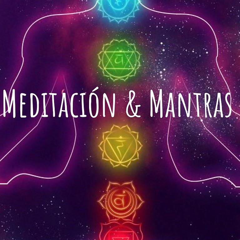 """Clase-Taller """"Meditación & Mantras"""", una experiencia sensorial única"""