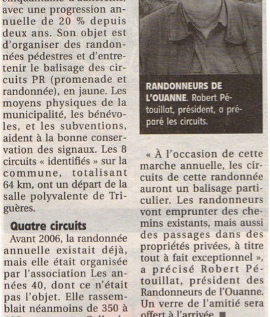 Articles de presse 2013