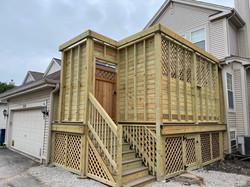 Back Porch in Progress