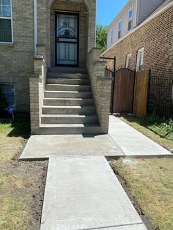 front steps