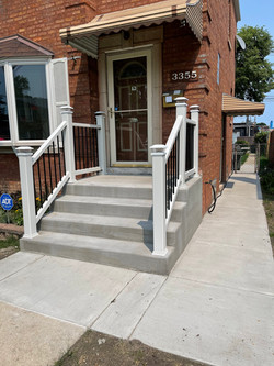Fron steps