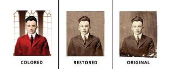 Old Royal Photo Restoration