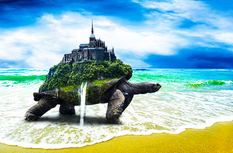Fantasy Turtle Island