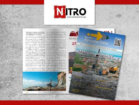 Nitro na mídia: Enrique Munaretti é ouvido pela Revista Agregados Online