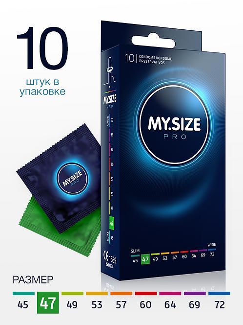 Презервативы MY.SIZE размер 47 (10 шт.) ГЕРМАНИЯ