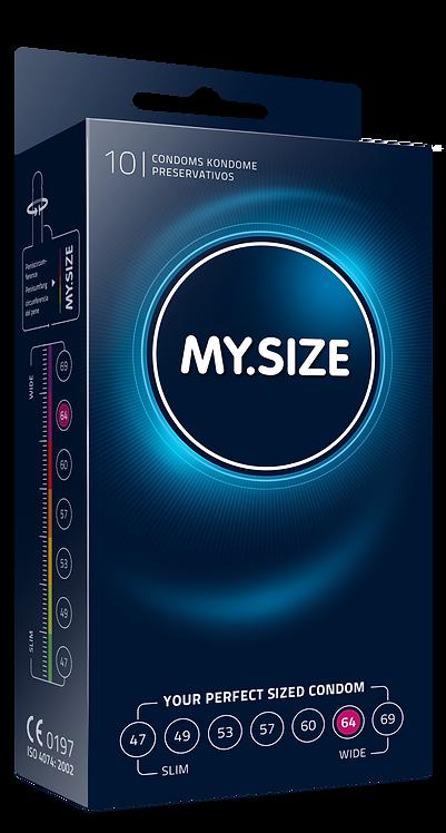 Презервативы MY.SIZE размер 64 (10 шт.) ГЕРМАНИЯ