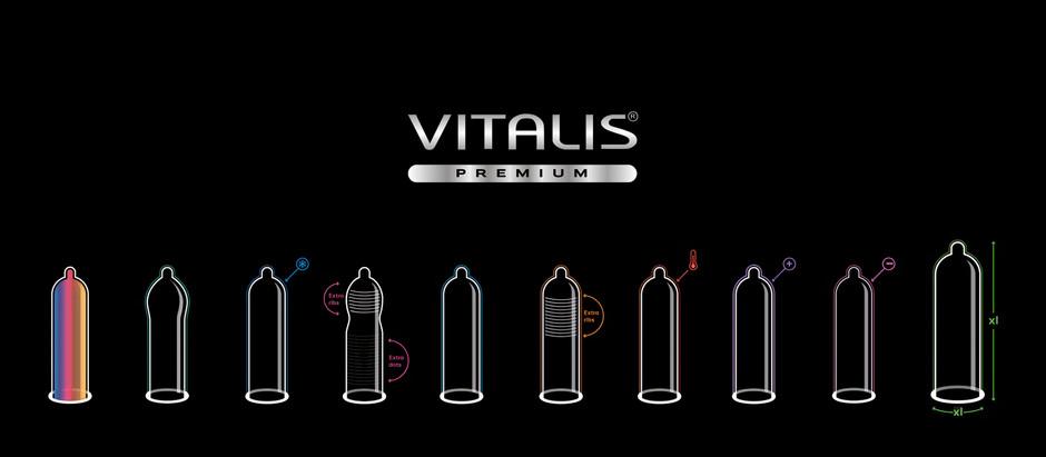 ПРЕЗЕРВАТИВЫ VITALIS premium - только с твердыми намерениями!
