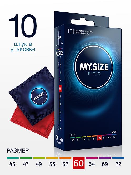 Презервативы MY.SIZE размер 60 (10 шт.) ГЕРМАНИЯ