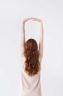 Red Hair Model