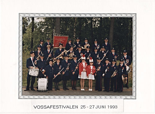 Landås skoles musikkorps - Vossafestivalen 1993