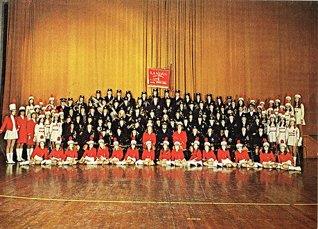Landås skoles musikkorps 1974