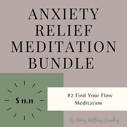 Anxiety relief meditation bundle # 2  .p