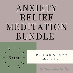 Anxiety relief meditation bundle # 3 .pn