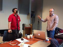 Workshop Recording Vocal Center 2014