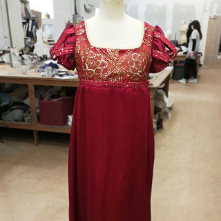 Regency Evening Dress -Sanditon