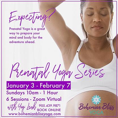 Prenatal Yoga Series #2 Ad - Contact Inf