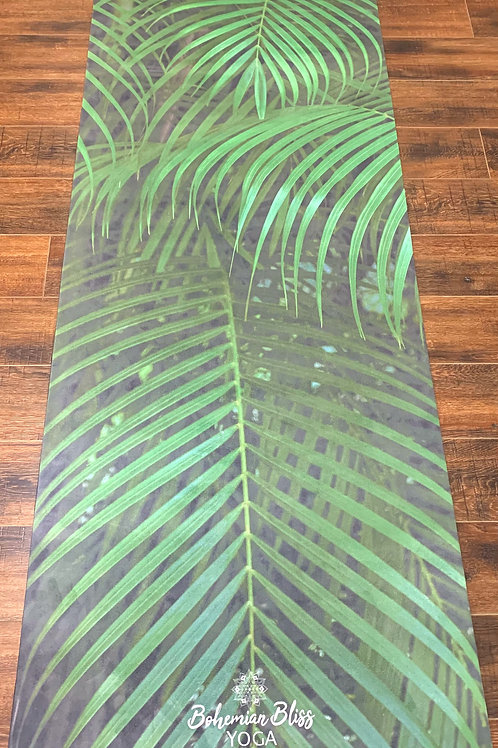 Suede Yoga Mat - Forest Palms